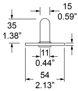 Dimensions for Socket
