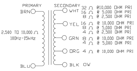 Hammond Transformer Wiring Diagrams. . Wiring Diagram on