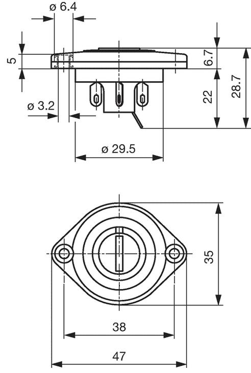 Switch - Rotary, Voltage Selector, Modern, for Marshall on marshall plexi tubes, marshall jcm 900 layout, marshall jcm pre amp, marshall tsl 100 first design, marshall parts list,