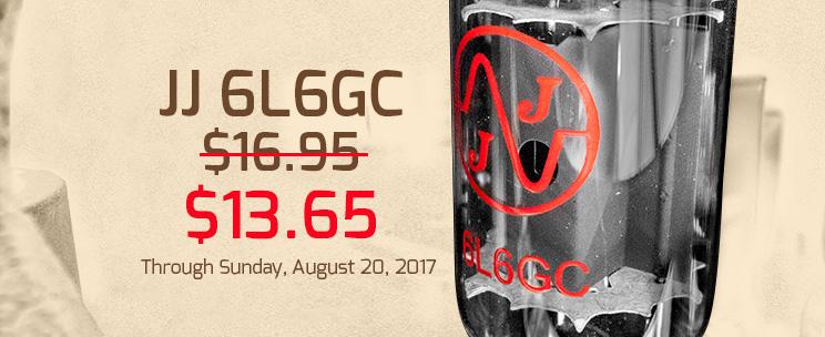JJ 6L6GC sale
