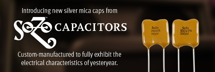 Introducing new silver mica caps from SoZo.