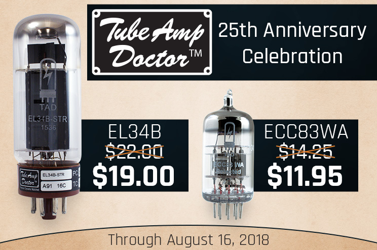 TAD 25th Anniversary sale
