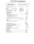 Specification Sheet for Regular