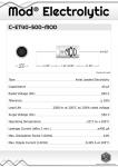 Datasheet for 40 µF - 500 V