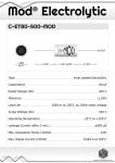 Datasheet for 80 µF - 500 V