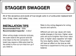 Stagger Swagger Manual