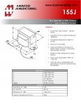 Specification Sheet for 15 H / 30 mA