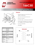 Specification Sheet for 3.75