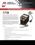Specification Sheet for 200 VA
