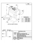 Specification Sheet for 15W   8.5kΩ   8Ω