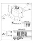 Specification Sheet for 15W | 6.95kΩ | 8Ω