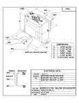 Specification Sheet for 40W   4kΩ   4Ω
