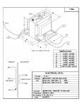 Specification Sheet for 60W   4.2kΩ   4Ω