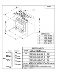 Specification Sheet for 50W | 126/500/2kΩ | 2/4/8/16Ω