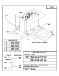 Specification Sheet for 100W | 2kΩ | 4Ω