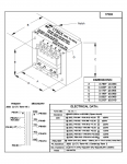 Specification Sheet for 100W | 126/500/2kΩ | 2/4/8/16Ω