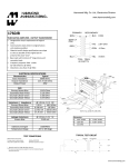 Specification Sheet for 40W   6.0 kΩ   2.67/4/8Ω