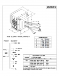 Specification Sheet for Deluxe, Deluxe Reverb - 240 V
