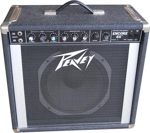 Tubes for the Peavey Encore 65   Amplified Parts