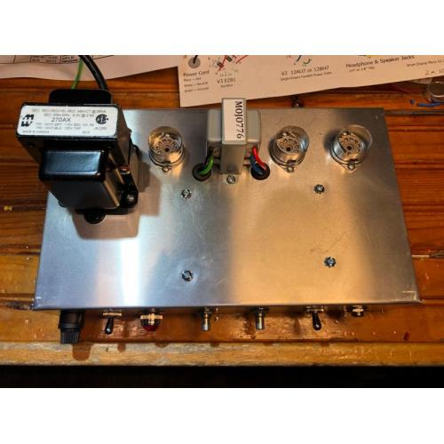"Customer image:<br/>""Amp build perfect chassis"""