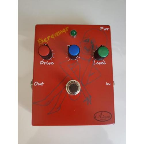 """Customer image:<br/>""""My newest overdrive pedal for guitarists. """""""
