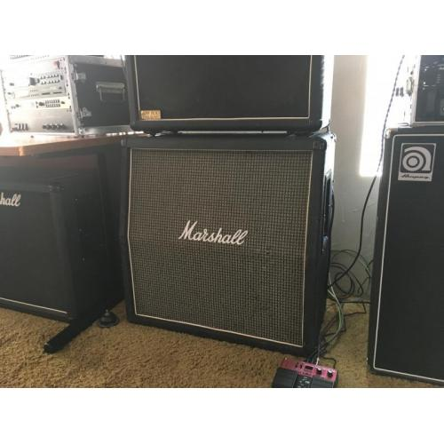 "Customer image:<br/>""Vintage (1979 year) model 1982 Cabinet sitting straight. Thank you Amplified Parts!"""