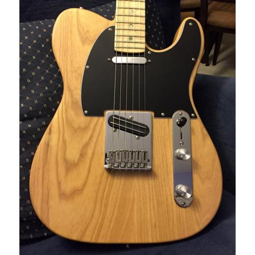 "Customer image:<br/>""Aluminum knobs on a parts Tele"""