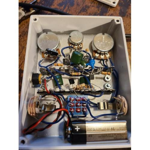 """Customer image:<br/>""""First pedal build. Great kit!"""""""