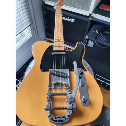 """Customer image:<br/>""""Bigsby B5 sur Telecaster reissue 52"""""""
