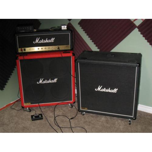 "Customer image:<br/>""New Marshall logo for the JCM800 2203 head."""