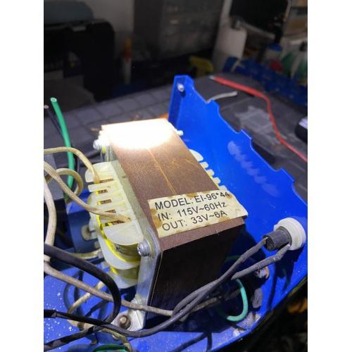 "Customer image:<br/>""Pool cleaner control box transformer"""