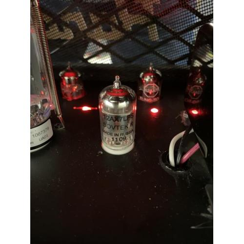 """Customer image:<br/>""""Here's a photo of the sovtek 12ax7 LPS! Rd45H diavlo."""""""