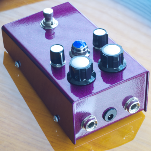 """Customer image:<br/>""""Large nuts on a modified fuzz face build"""""""