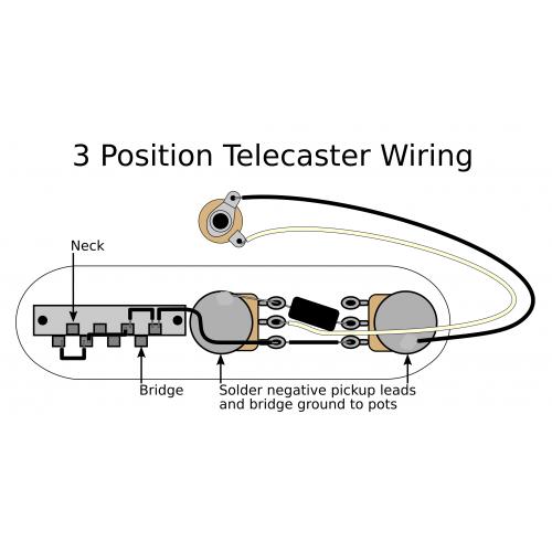 3 Position Tele Electronics Upgrade