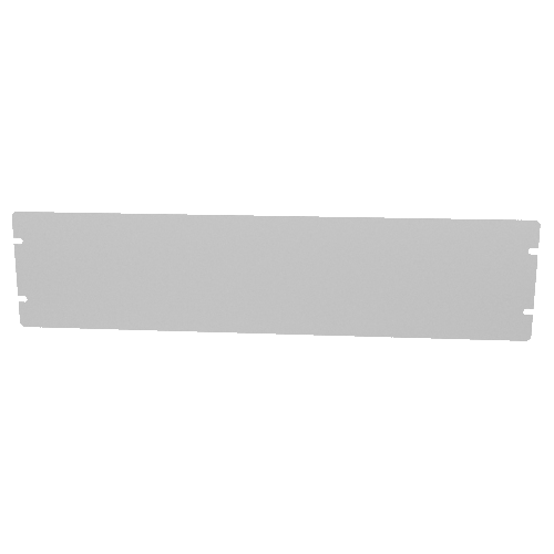 "Cover Plate - Hammond, Aluminum, 17"" x 4"" image 1"