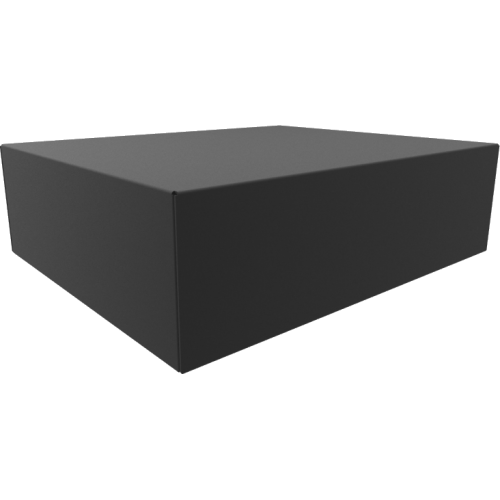 "Chassis Box - Hammond, Steel, 17"" x 14"" x 5"", Black image 1"