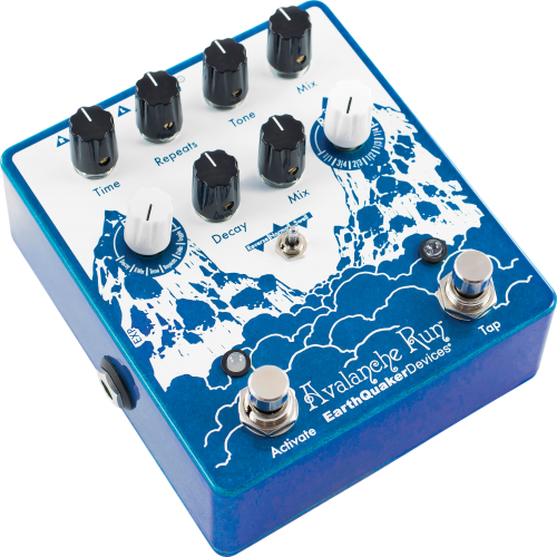 Effects Pedal – EarthQuaker Devices, Avalanche Run™, Stereo Reverb & Delay with Tap Tempo image 3