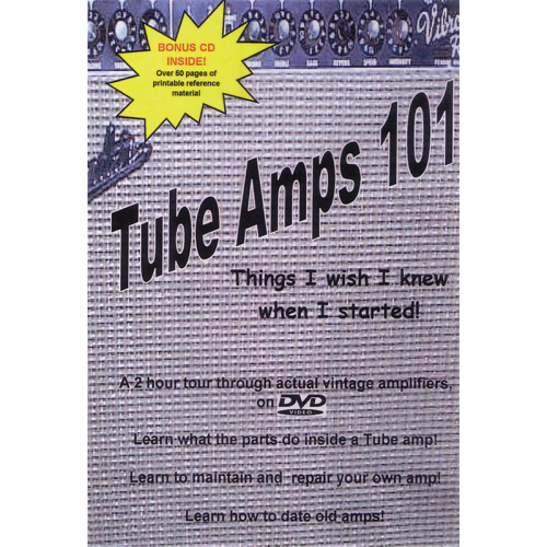 DVD - Tube Amps 101, Things I Wish I Knew image 1