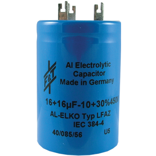 Capacitor - F&T, Multi-Section, Electrolytic image 1