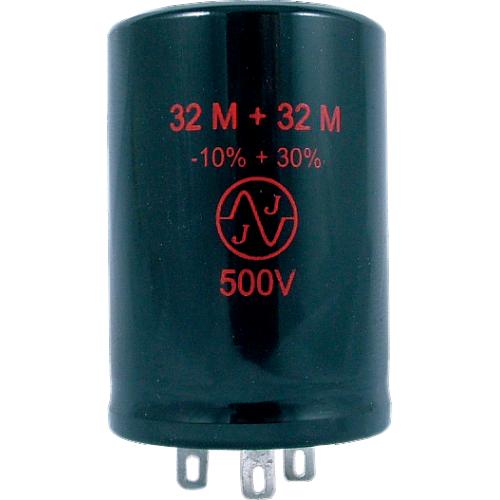 Capacitor - JJ Electronics, 500V, 32/32 μF, Electrolytic image 1