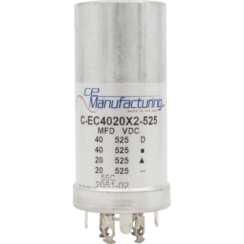 Capacitor - CE Mfg., 525V, 40/40/20/20 μF image 1