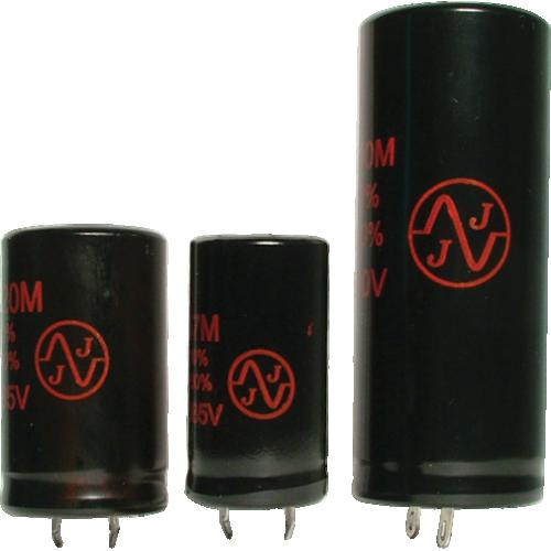 Capacitor - JJ Electronics, 500V, 500µF, Electrolytic image 1