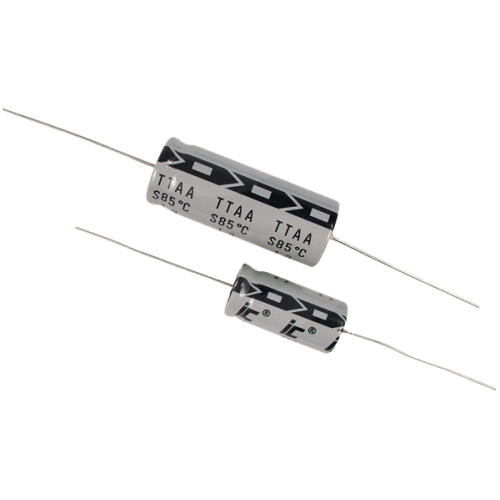 Capacitor - Illinois, 350V, 10µF, Axial Lead Electrolytic image 1