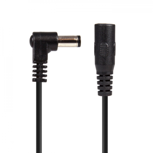 Cable - Power All, Black Right Angle Extension Jumper image 4