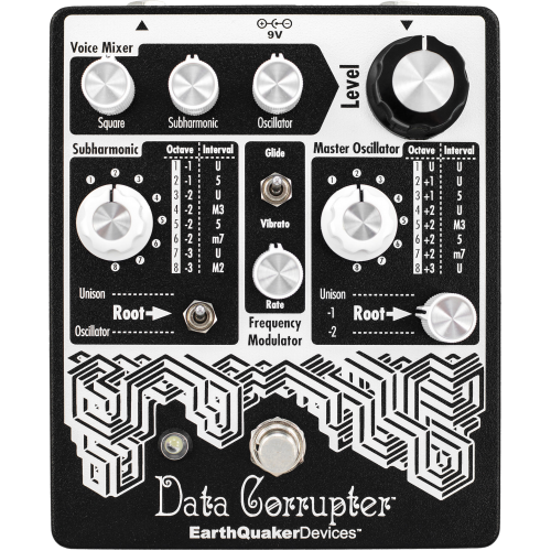 Effects Pedal – EarthQuaker Devices, Data Corrupter™, Monophonic Harmonizing PLL image 1