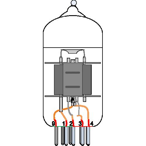 Vacuum Tube - 12AX7/ECC83, Electro-Harmonix image 3