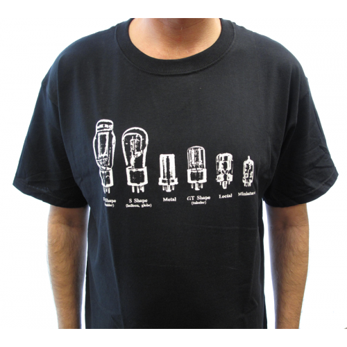 Shirt - Black with Common Tube Shapes image 2