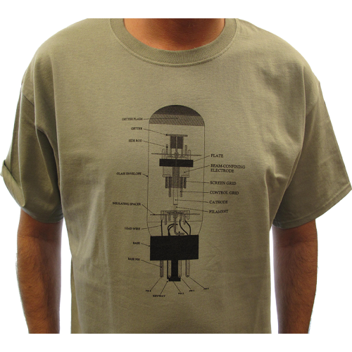 Shirt - Stonewash Green with 6L6 Diagram image 2