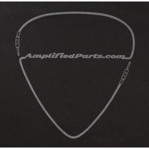 T-Shirt - Black, Amplified Parts Pick Logo, Men's Sizes image 1