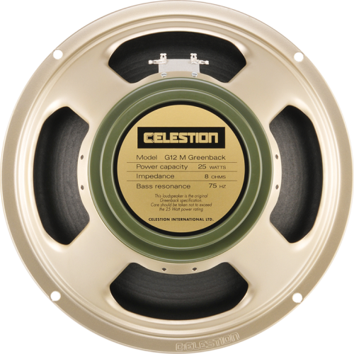 "Speaker - Celestion, 12"", G12M Greenback, 25W image 1"